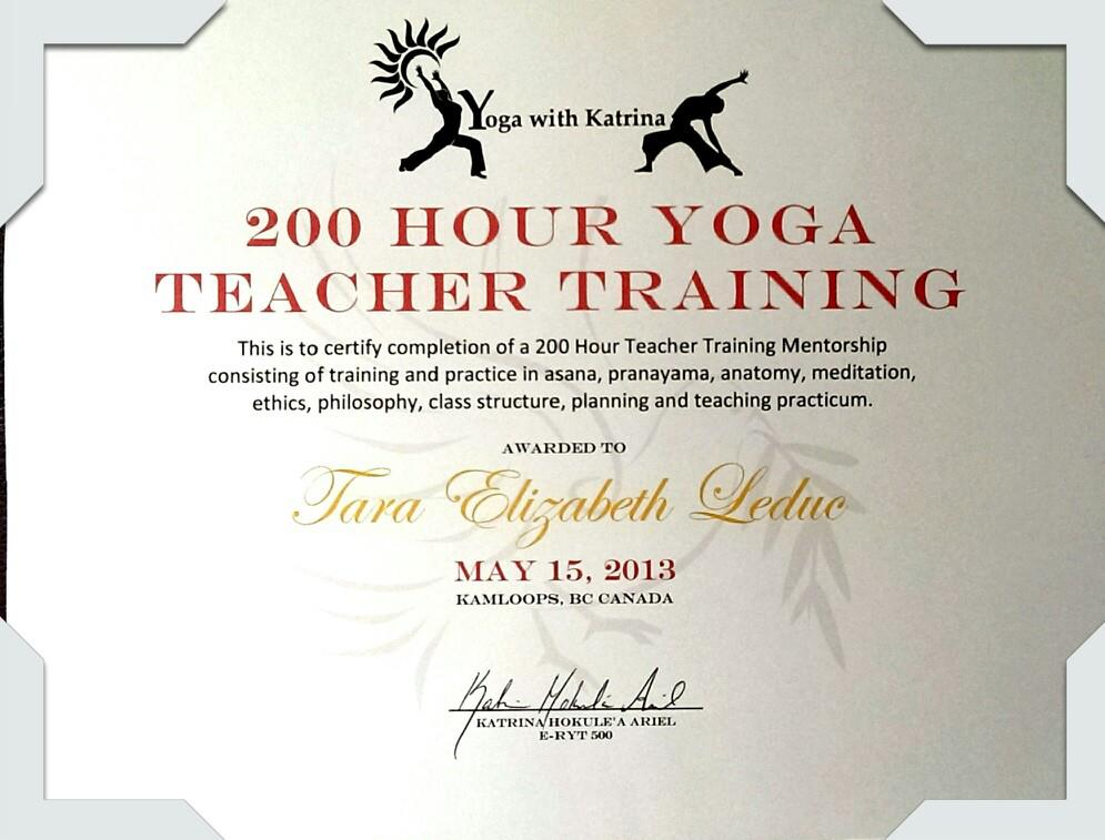big - Yoga Certificate Template